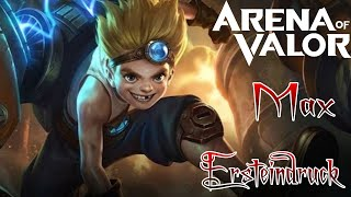 AoV - Max - Ersteindruck/Vorstellung/Gameplay | Arena of Valor German Deutsch