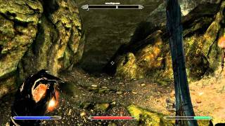 Skyrim PC gameplay: Dungeon - nvidia GeForce 8800gt - High Settings & 4xAA - [HD]