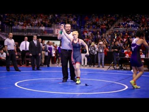 Transgender boy wins girls' wrestling title