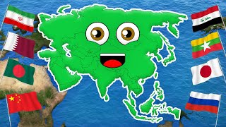 Asia/Continent of Asia/Asia Geography