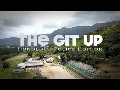 Blaine - Honolulu Police Department Does Git Up Challenge!