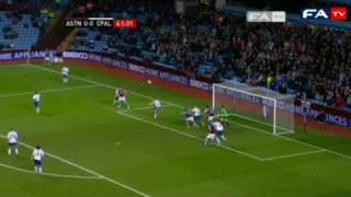 Aston Villa 3-1 Crystal Palace - 2010 FA Cup Fifth Round Replay