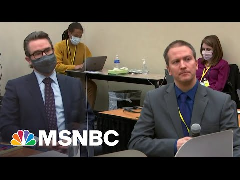 Chauvin Refuses To Testify At Trial   The 11th Hour   MSNBC
