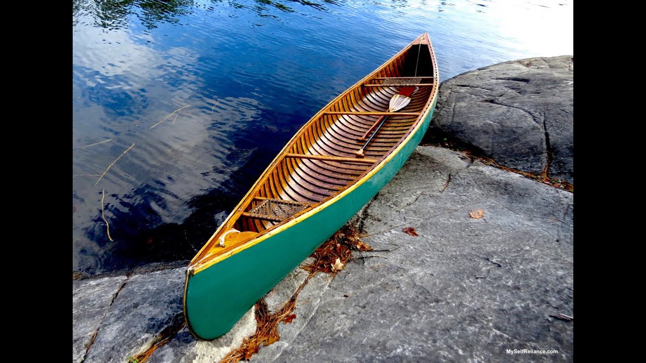 Small Rivers and the Solo Canoe