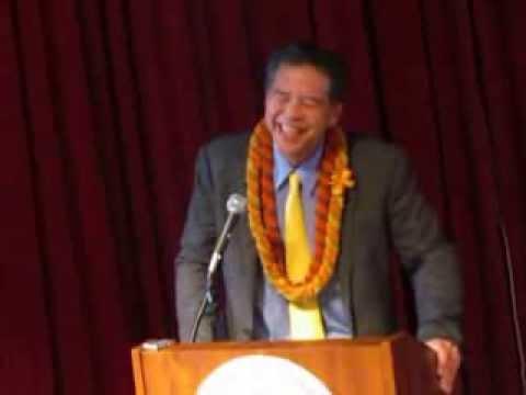 Sen. Clayton Hee at the Hawai