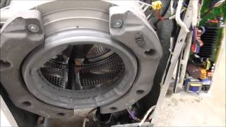 Jak vyměnit ložiska pračky LG 5kg