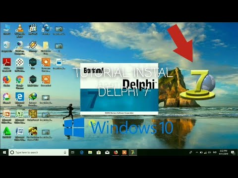 CARA MENGINSTAL DELPHI 7 PADA WINDOWS 10