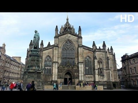 St Giles Cathedral High Kirk of Edinburgh Scotland SYED's Tourism HD