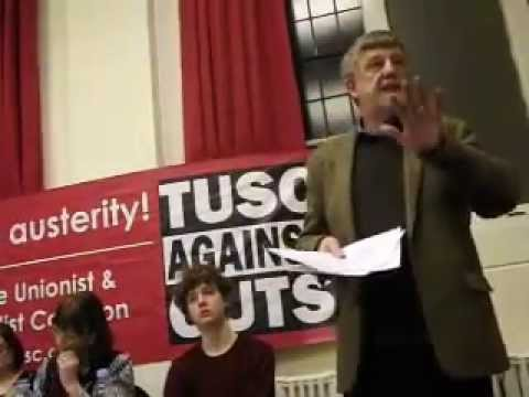 Coventry TUSC Election Launch 2015: Dave Nellist