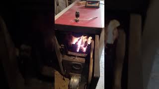 видео Твердотопливный котел Viadrus U22 С-10/D-10
