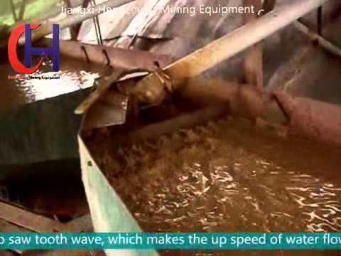 jig machine working video / Hengcheng Mining Equipment Company