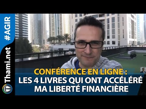 Conférence en ligne : les 4 livres qui ont accéléré ma liberté financière