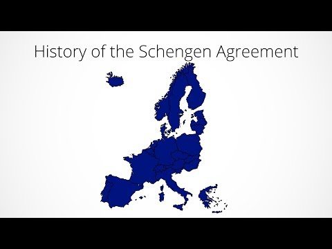 History of the Schengen Agreement: Every Year (1985-2017)