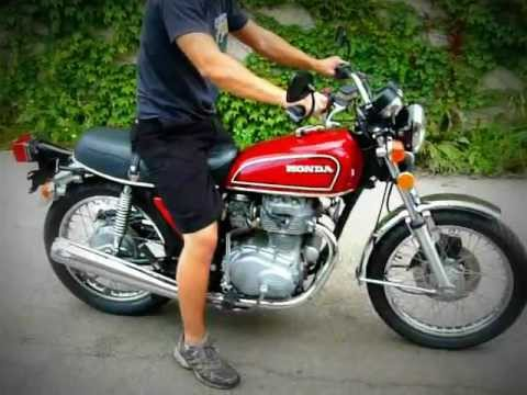 1976 Honda CB360T - YouTube