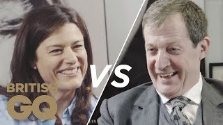 Alastair Campbell vs Miriam González: Brexit & New Wave Feminism | GQ Politics | British GQ