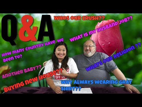 FILIPINA AMERICAN LIFE IN AMERICA QUESTION AND ANSWER ABOUT OUR LIFE