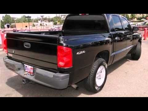 2008 dodge dakota 4x4 bighorn lonestar sxt crew cab youtube for Mccloskey motors truck town