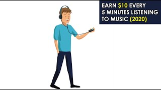 Make $10 Every 5 Minutes Listening To Music (Make Money Online)