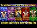 Tutorial cara membuat wallpaper free fire keren _ free fire indonesia