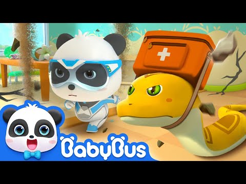 【New】Run! The Building is Collapsing | Super Panda Rescue Team 7 | Earthquake Escape | BabyBus
