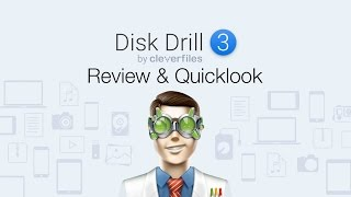 Disk Drill 3 - Review and Quicklook