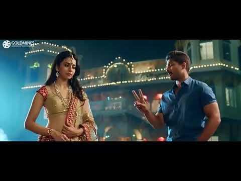 Rakul Preet 💘Allu Arjun 💕Sarrainodu Movies Sweet Scene New WhatsApp Status 2019 Video