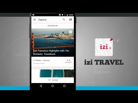 izi.TRAVEL Android App Demo - State of Tech