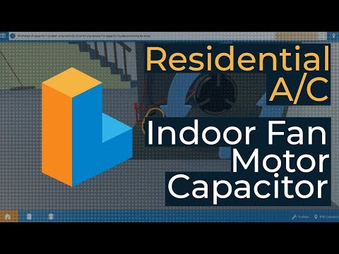 How to Fix a Faulty Run Capacitor - Residential AC  [2019 HVAC Training]