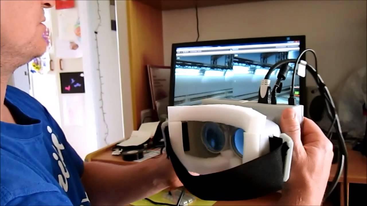 Demo Of My Diy Virtual Reality Headset