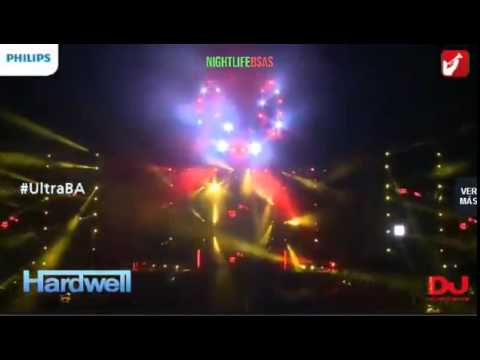 Hardwell @ Ultra Buenos Aires 2014 Argentina   #UMFBA