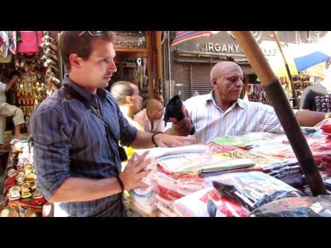 [Egypt Adventures:] Negotiating at the Khan el Khalili Market in Cairo