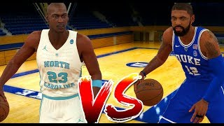 NCAA 2K18 ROSTERS!! ALL TIME DUKE VS ALL TIME NORTH CAROLINA!!