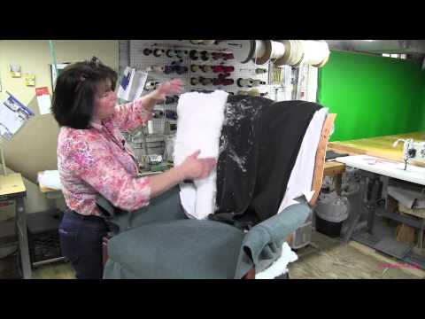 Upholstering A Channel Back Chair Part 4