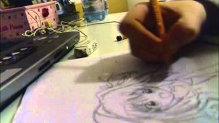 Pencil Drawing Akari Sakura - Jewel Pet Tinkle