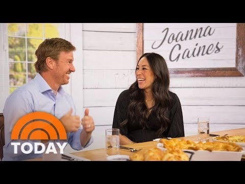 Fixer Upper Stars Joanna Gaines And Chip Gaines Talk About New Cookbook, Baby No. 5 | TODAY
