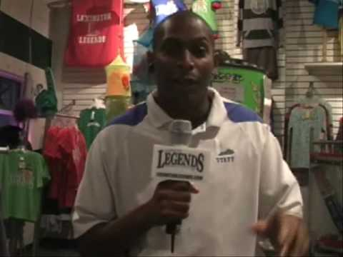 July 6, 2009 - Late Night with the Lexington Legends