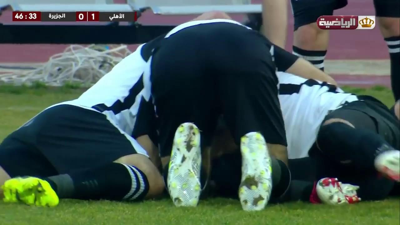 الأهلي يفوز على الجزيرة المتصدر بهدفين مقابل هدف وحيد  بإنطلاقة إياب دوري المناصير