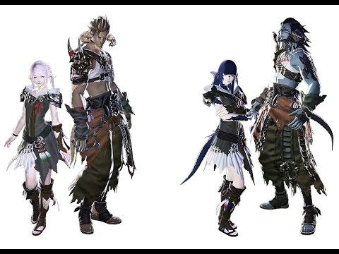 Final fantasy 14 Heavensward Race Ao Ra - Homme Raen