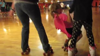 FIRST TIME ROLLER SKATING