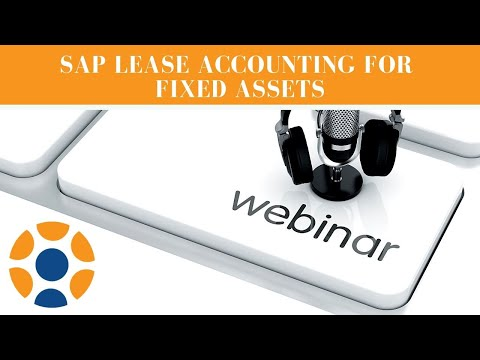 SAP Lease Accounting For Fixed Assets