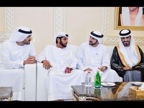 حمدان بن محمد يحضر أفراح الجزيري والرئيس