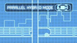 Outlander PHEV - le fonctionnement des moteurs électriques et thermique
