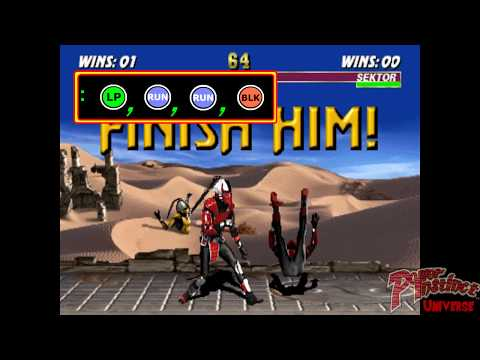 ALL FATALITY - TUTORIAL MOVE LIST - ULTIMATE MORTAL KOMBAT 3 ARCADE 1080p 60fps