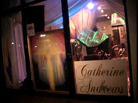 Opening of VISIONS: THE ART OF CATHERINE ANDREWS