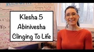 """""""Yoga Board"""" Klesha 5: Abinivesha: Clinging to Life- LauraGYoga"""