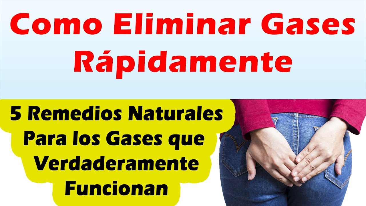 remedio natural para sacar los gases