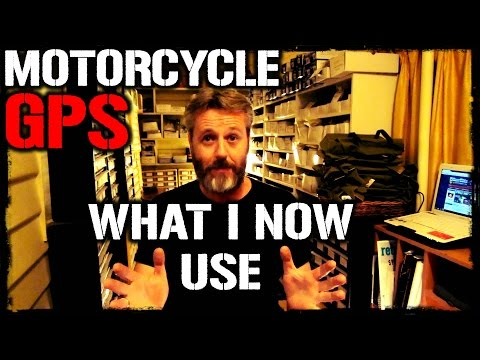 Motorcycle GPS   What I Now Use