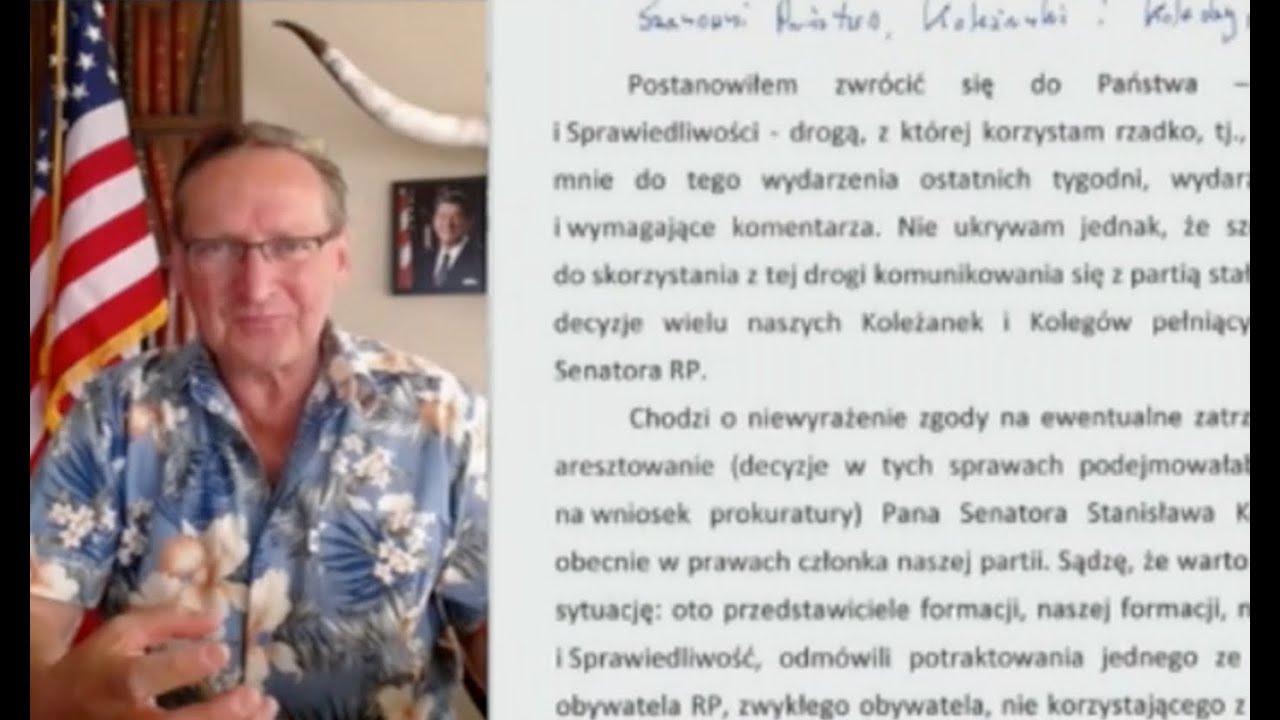 Cejrowski: wszystkie głosowania w Senacie powinny być jawne!