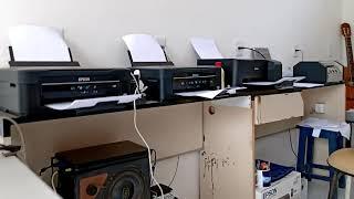 Gráfica Rápida  Qual a melhor Epson L380 vs L3110? Velocidade de impressão