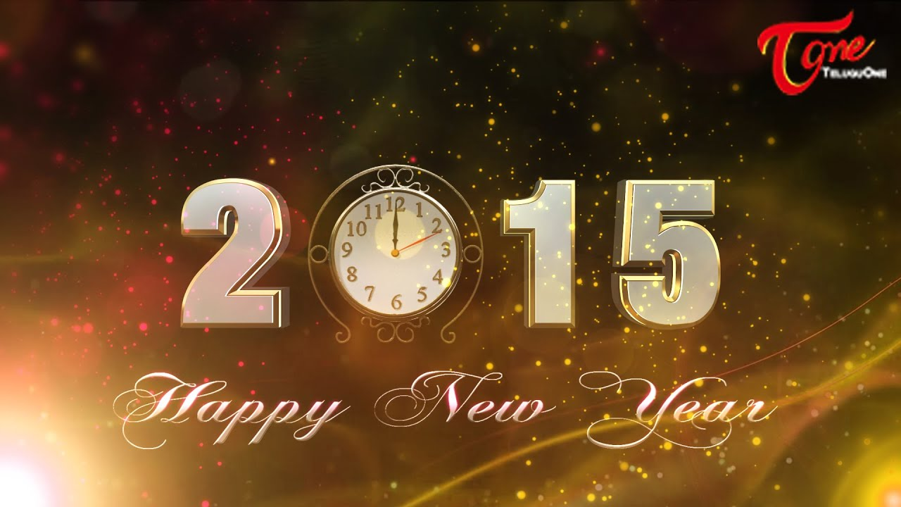 Happy New Year 2015 Greetings Best Animated Greetings Youtube